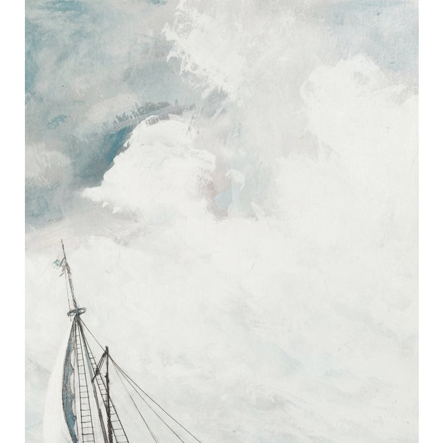 Oil Painting - A Stiff Breeze, 1966 - Image 4 of 6
