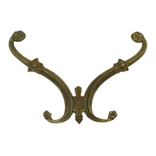 1920s Era Brass Hook