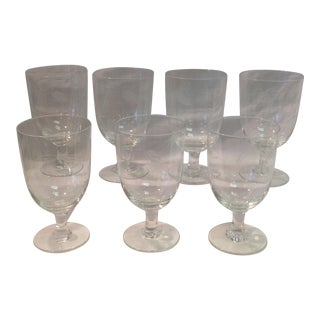 Sasaki Mid-Century Port/Sherry Glasses - Set of 7