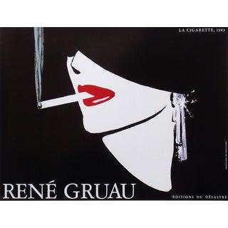 'Desastre La Cigarette' Poster by Rene Gruau