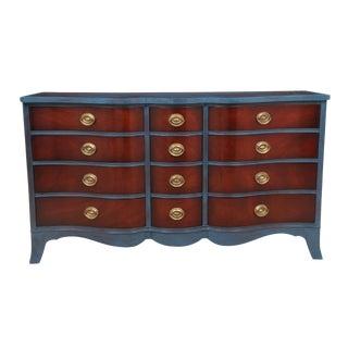 Neoclassical Style Mahogany Dresser