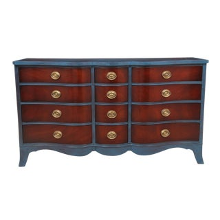 Neoclassical Style Mahogany Dresser