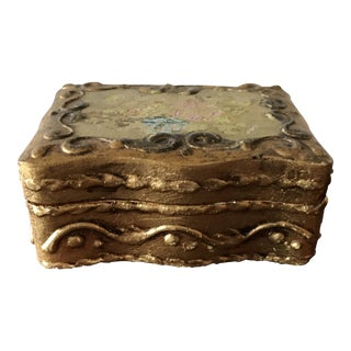 Italian Florentina Trinket Box