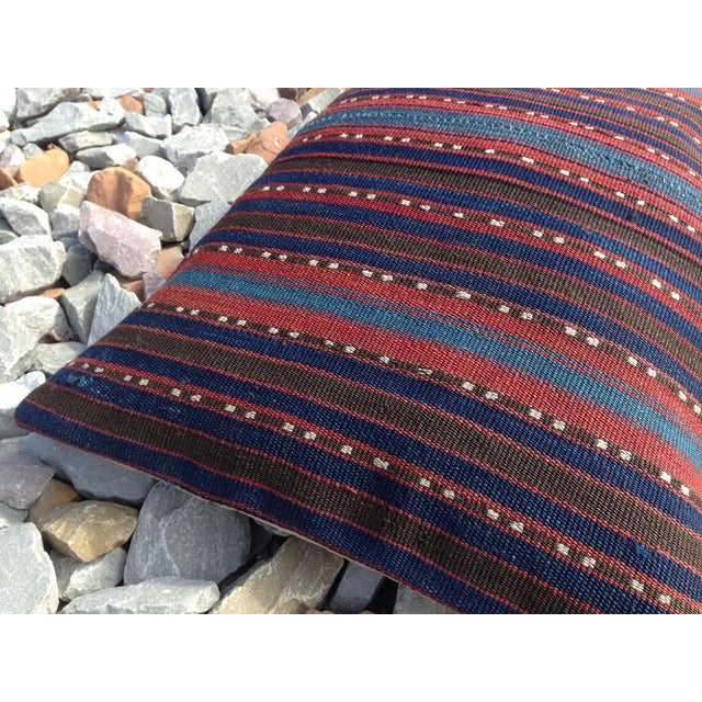 Decorative Anatolian Kilim Pillow - Image 6 of 8