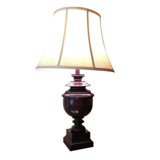 American Traditional Walnut Lamp