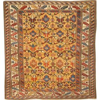 Antique 19th Century Caucasian Dagestan Rug