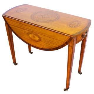 Georgian Revival George III Style Pembroke Table