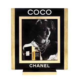 Vintage Chanel Coco Perfume Lightbox Ad