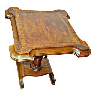 Wooden Vintage End Table