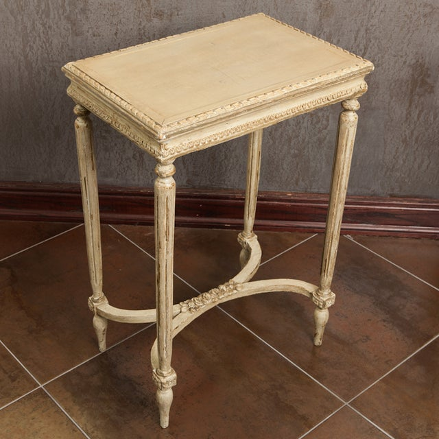 Antique French Carved Side Table - Image 7 of 7