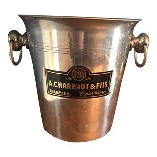 Metal A. Charbaut & Fils Champagne Bucket