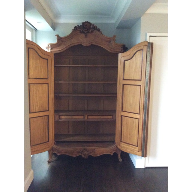 Antique French Louis XV Armoire - Image 3 of 7