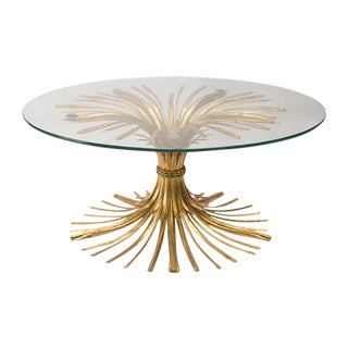 Italian Sheaf of Wheat Coffee Table