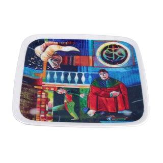 """L. Rincicotti Zodiac Plate """"Capricorn"""""""