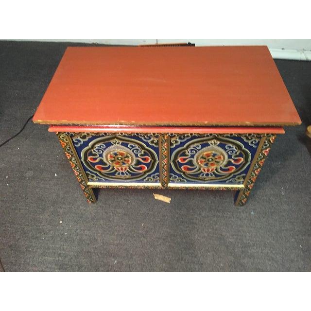 Bhutanese Chodan Table - Image 3 of 5