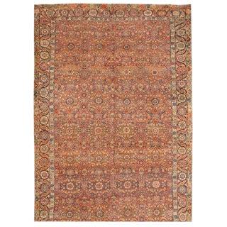 Antique 19th Century Persian Souj Boulak Gallery Carpet