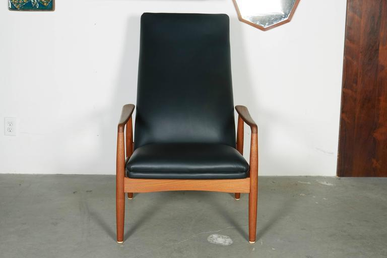 Danish Recliner Chair by Soren Ladefoged - Image 5 of 7  sc 1 st  DECASO & Distinguished Danish Recliner Chair by Soren Ladefoged   DECASO islam-shia.org