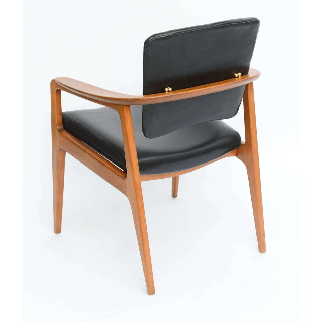 Image of Sigvard Bernadotte Teak Lounge Armchair for France & Daverkosen