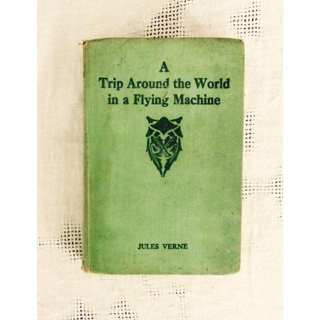 Image of A Trip Around the World in a Flying Machine by Jules Verne