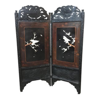 Asian Style Folding Screen Room Divider