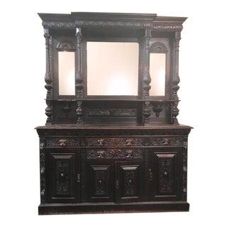 Massive Carved Cabinet, 1790