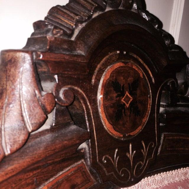 John Jelliff Victorian Walnut Armchair Chairish
