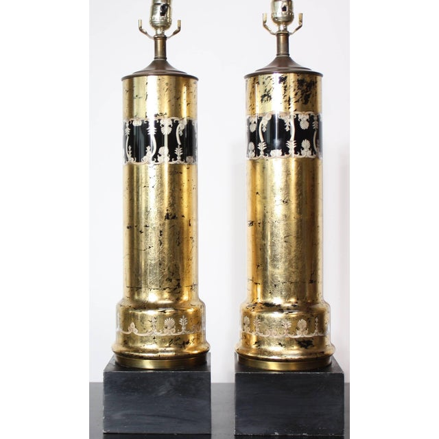 Pair of Piero Fornasetti Table Lamps - Image 6 of 8
