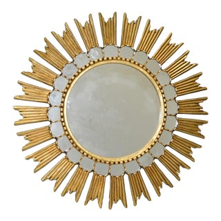 Contemporary Starburst Mirror