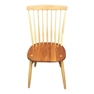 W.A. Mitchel Cherry Maple Temple Side Chair
