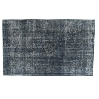 "Overdye Vintage Turkish Grey/Indigo - 5' 4""x 8'"