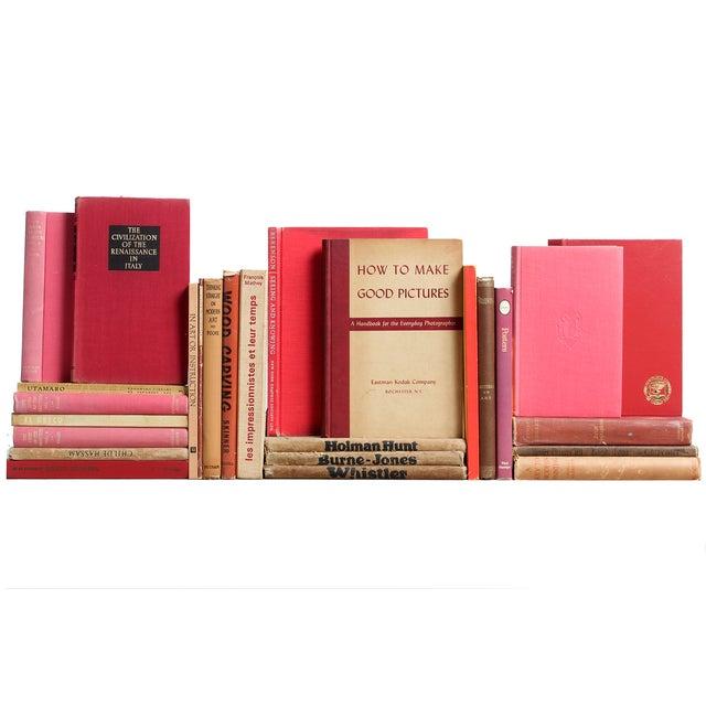 Red & Tan Art Mini Books - S/26 - Image 1 of 4