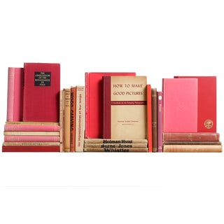 Red & Tan Art Mini Books - S/26