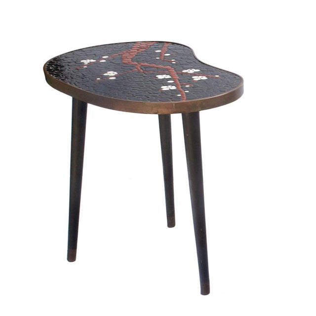 Atomic-Style Mosaic Side Tables - A Pair - Image 4 of 4