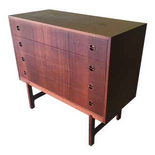 1960's Ejnar Larsen & Askel Madsen for NM Denmark Chest of Drawers