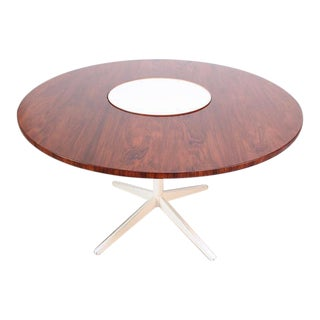 George Nelson for Herman Miller Rosewood 'Lazy Susan' Table