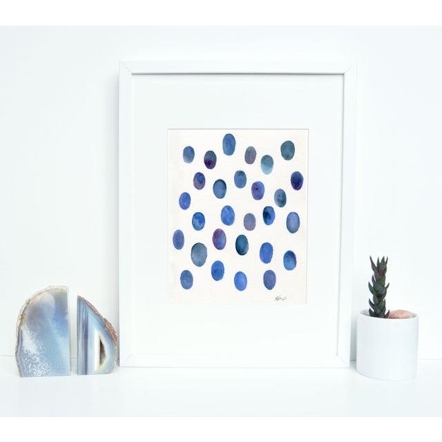 """Image of Ellen Sherman """"Drops of Lapis """" Original Painting"""