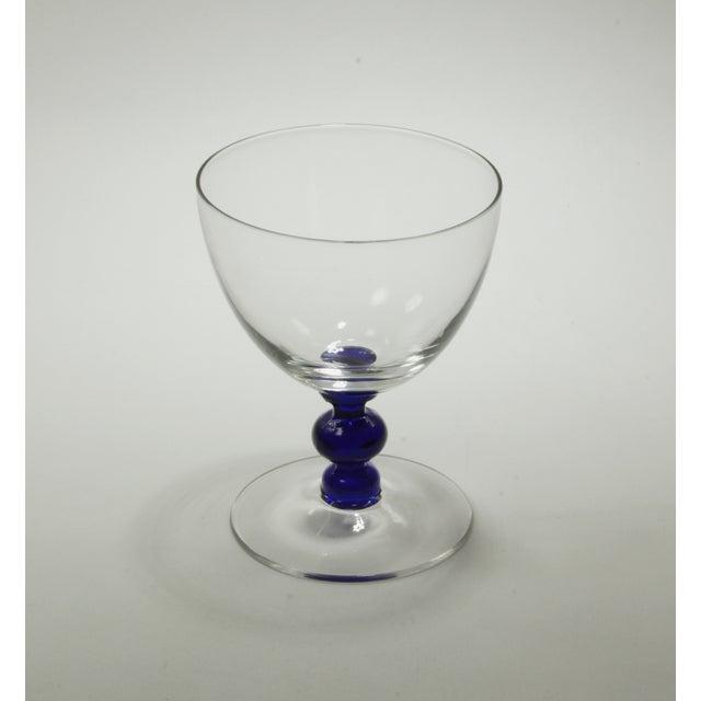 Vintage Art Deco Crystal Aperitif Stemware - Set/8 - Image 6 of 6