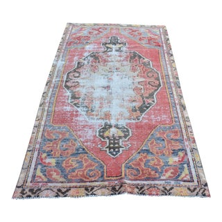 "Turkish Antique Handmade Rug - 44"" x 87"""
