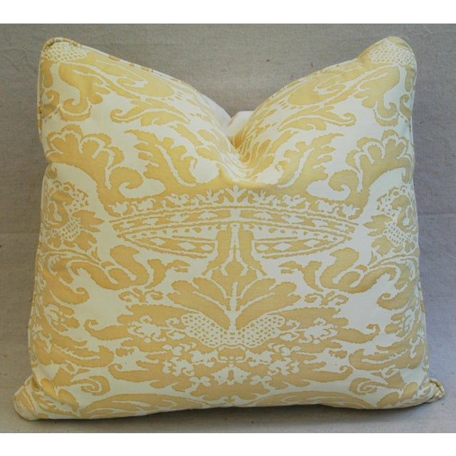 Image of Mariano Fortuny Italian Corone Crown Feather/Down Pillows - Pair