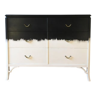 Vintage 3 Drawer Dresser Painted Black A