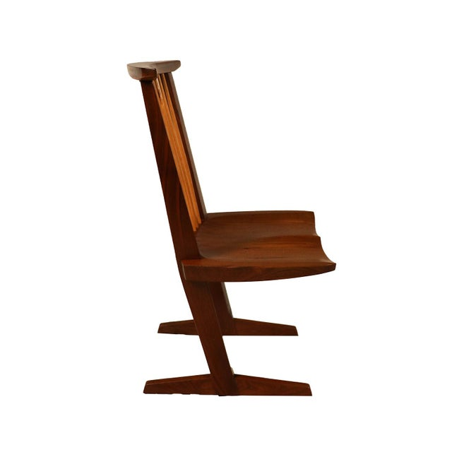 George Nakashima Conoid Chairs - A Pair - Image 10 of 11