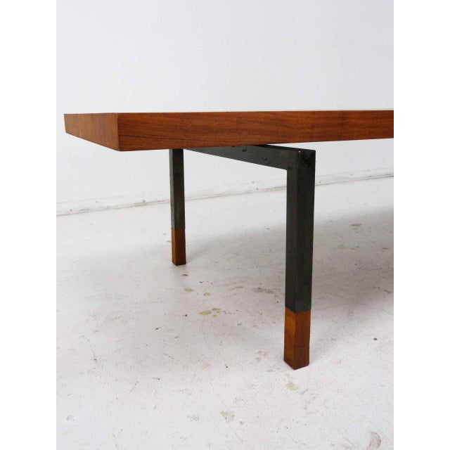 Teak & Steel Coffee Table by Johannes Aasbjerg for Illums Bolighus - Image 6 of 8
