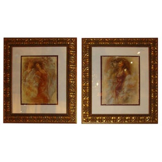 Peter Nixon Signed and Numbered Prints- A Pair