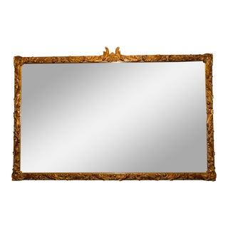 Italian Carved Giltwood Rococo Mirror