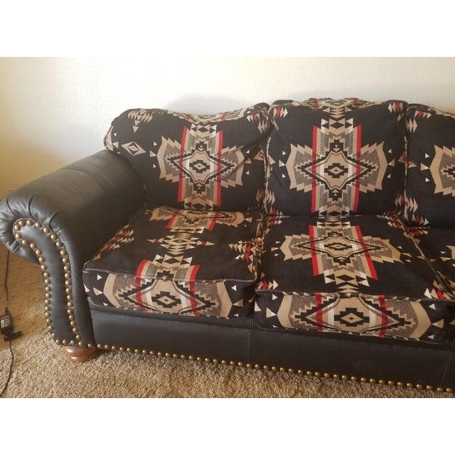 Pendleton Wool Santa Fe Style Southwestern Sofa Chairish