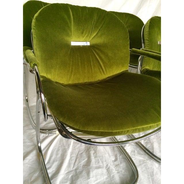 Sabrina Chairs by Gastone Rinaldi - S/6 - Image 8 of 9