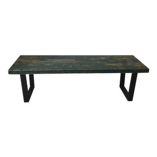 Vintage used black coffee tables chairish for Table 430 52