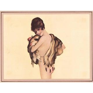 Nude with Fur Print c 1912
