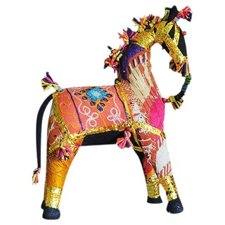 Indian Embroidered Shisha Horse