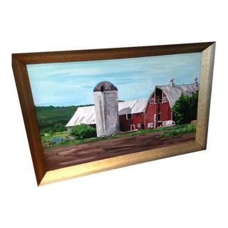 """A Farmer's Life"" Original Acrylic Painting"
